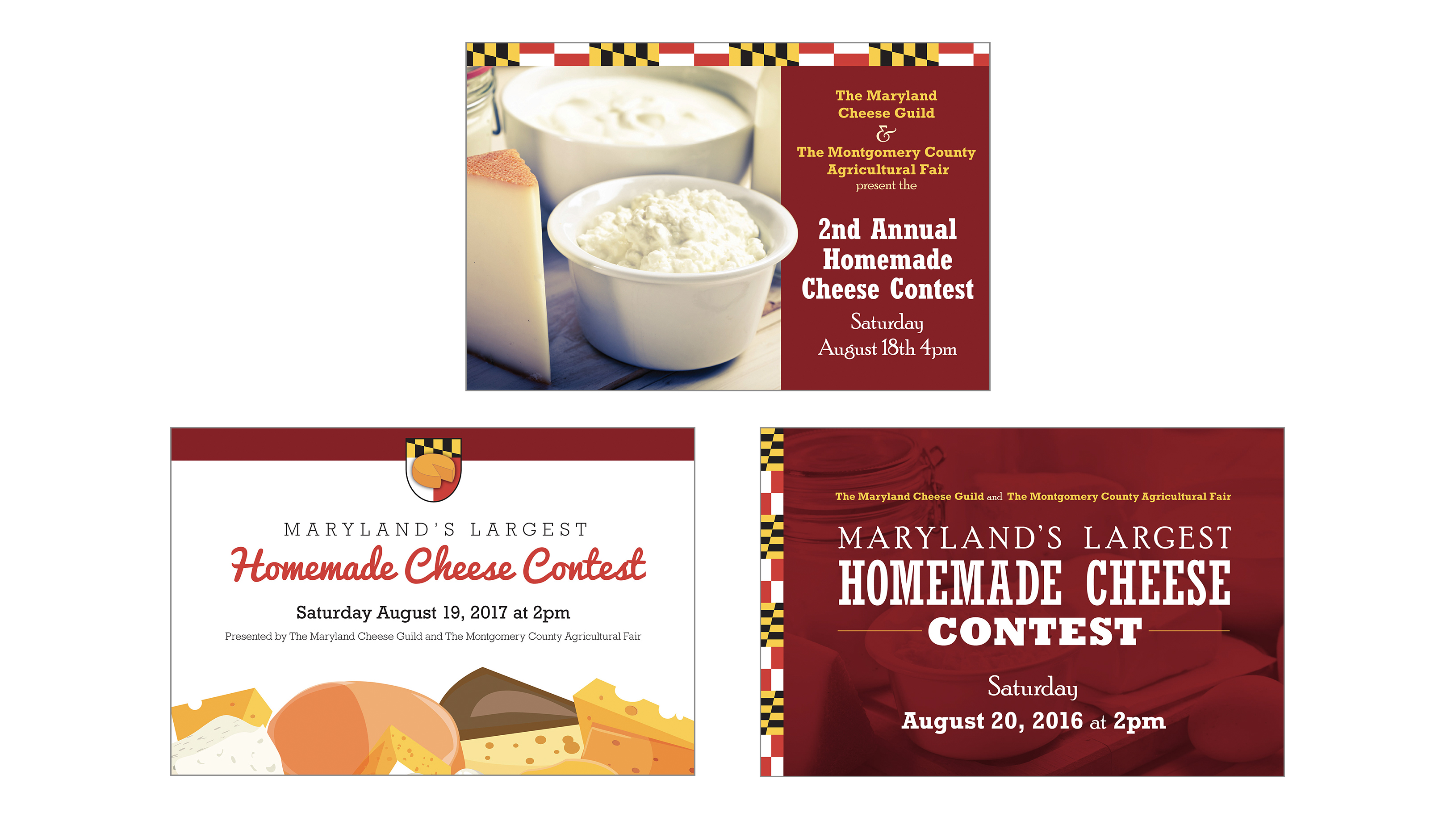 Maryland Cheese Guild Postcards